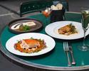【CASUAL / 平日】前菜2種、魚料理、肉料理のWメインなど全5品 + 2時間飲み放題