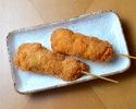 味噌串カツ2本