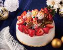 【事前決済】クリスマス・ストロベリー・ショートケーキ