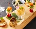 【贅沢プラン】3H飲み放題付き!握り寿司&ロール寿司や豪華海鮮料理含む全8品