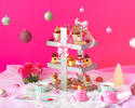 Christmas Pink Afternoon Tea 1部【12/19~25】