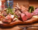 GINZAといえば肉のグリルとベルギー料理堪能コース【自社輸入クラフトビール5種類含む120分飲み放題付】…6,000yen