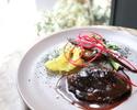 [平日]ランチコース 3種類から選べるパスタ、魚料理 or 肉料理とデザート6種の盛り合わせ 全5品