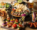 【PARTY PLAN 3000円】全7品のお食事プラン 当店自慢のアメリカ南部テイストのお料理をお楽しみいただけるコース