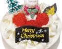 【クリスマス商品】いちごの生クリームケーキ(14㎝)