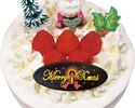 【クリスマス商品】いちごの生クリームケーキ(17㎝)