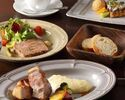 【ディナー】季節のプリフィックスディナーWメインBコース