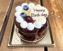 【オプション】 チョコレートケーキ