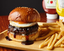 Kobe beef 100% teriyaki egg burger