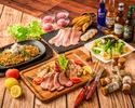 【肉三昧忘年会コース】2時間/飲み放題/料理5品/前菜からメインまで肉尽くし
