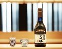 Omakase Course + Sake course at a table (not the counter seat)