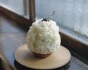 大人のかき氷各種・福岡茶酒房 yorozuの日本茶付き