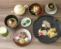 【ディナー】 3,800円 お茶料理コース ≪4品+1ドリンク≫