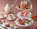 []  Strawberry Afternoon tea set