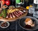 クリスマスディナー2020 *スパークリング含む2時間飲み放題付き!ブラックアンガス牛のステーキなど全7皿