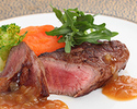 ●【SHIKITEI】非日常空間で過ごす!お肉・お魚が選べるプリフィクスコース全5品ランチ