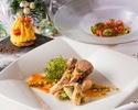 ●【カジュアルディナーに】SEASON Dinner☆季節野菜を使用した前菜や大人気のパイ包みスープが含まれた選べるコース!