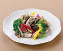 彩り野菜の天日塩炒め