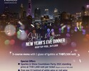 NYE Special Dinner_5 Course Menu with 1 Sparkling Wine per person at Infinity Pool Edge
