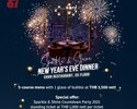 NYE Special Dinner_5 Course Menu with 1 Sparkling Wine (Minimum spend per table)