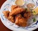 【パーティープランC】牛リブステーキや白身魚のムニエルなど 全8品