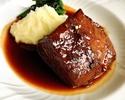 【テイクアウト】和牛ホホ肉の赤ワイン煮込み 2人前 ¥3,000