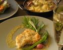 【土日祝限定★ランチコース】前菜・ラクサスープ・魚介のパスタ・肉料理&魚料理の選べるメインなど全5皿