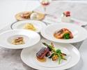 ●【心に残る1日に…】キャビア・フォアグラ・トリュフ・オマール海老・牛肉のグリル等全7品お祝いコース 7,650円