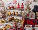 "【Weekdays / Counter seats】 ""Alice's bread Eat me"" Afternoon tea with strawberry sweets, authentic scones, and bread (12/26 ~)"