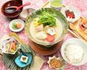 名物水炊き膳3,000円(税サ込)