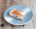 【テイクアウト】ラムレーズンのチーズケーキ