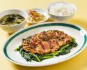 【特製ランチ】国産牛ヒレステーキ野菜炒め
