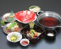 すき焼き(ディナー)90分お肉食べ放題(小鉢/御造り/肉/野菜/御飯/デザート)3/31まで