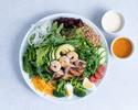 【TakeOut】Regular Chef's Salad 12 Kinds Vegetable,Chicken,Shrimp