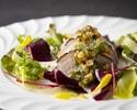 《WEB予約限定》Charmer(シャルメ)+ フォワグラのソテー + オリーブ牛フィレ肉のロースト