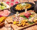 牛フィレや三元豚など肉尽くし5品(9種)個室5時間《肉極みコース》+ソフトドリンクバー付き