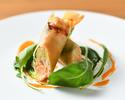 【平日限定プチ贅沢ランチ】スープ、魚料理、デザート含む全3品+乾杯スパークリング付