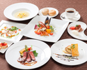 1/15~【Lunch Course】Ie dejeuner SoIeil ~太陽(ソレイユ)~ 6,000円(税別)【料理6品】