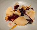 【Taxi Delivery】Burrata Cheese & Roasted Beets, Pear, Hazelnut Vinaigrette