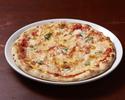【20%OFF価格】トマトソースとバジルのシンプルなピッツァ