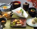 【ディナータイム】御両家の顔合せプラン!旬魚の焼き物がメインのお会席。計11品