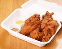 【テイクアウト】三笠会館伝統の骨付き鶏の唐揚げ