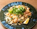 "Pad Thai-Thai style stir fried ""yakisoba"" noodles"