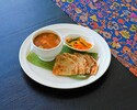 Assam fish Curry & Roti Paratha