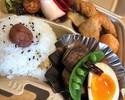 27日(水)日替りテイクアウト弁当(じっくり煮込んだ甘辛角煮と煮卵&フライ)
