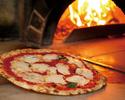 【テイクアウト】イタリア産モッツァレラチーズとバジルのトマトソースピッツァ マルゲリータ