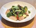 Grilled Chicken Salad with Honey Mustard Dressing