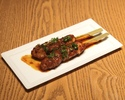 Spicy Anticucho Skewers -Salmon (2 skewers)