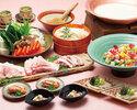 <胡麻豆乳鍋>3300円