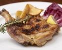 【テイクアウト】九州産「みつせ鶏」骨付き肉の炭火焼き